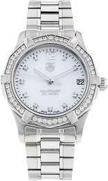 TAG Heuer Aquaracer 32 mm Diamond Dial And Bezel  WAF1313.BA0819